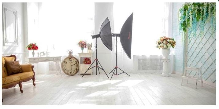 Съемка клипа с декорациями для невест