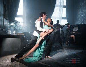 Танцы под живые инструменты на видео