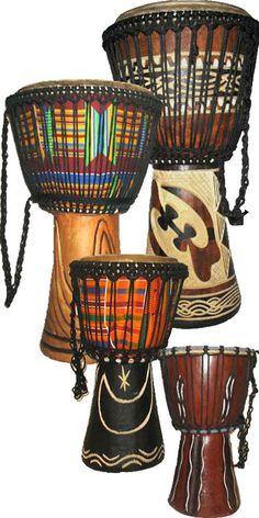 этническая перкуссия, барабаны