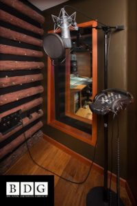 Звукоизолированная комната для записи голоса