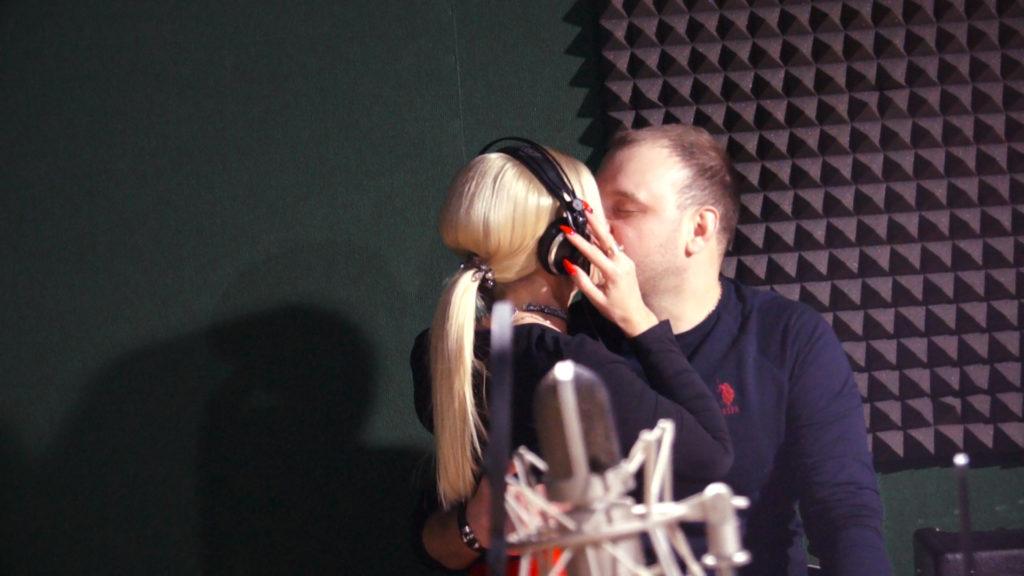 запись песни вдвоем в студии